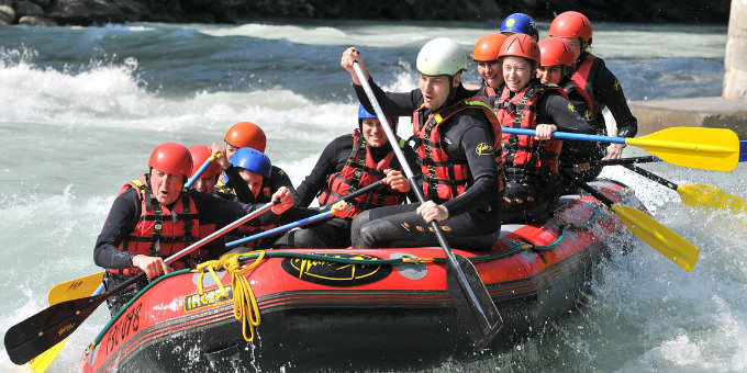 5 Best Places For White Water Rafting Near Denver