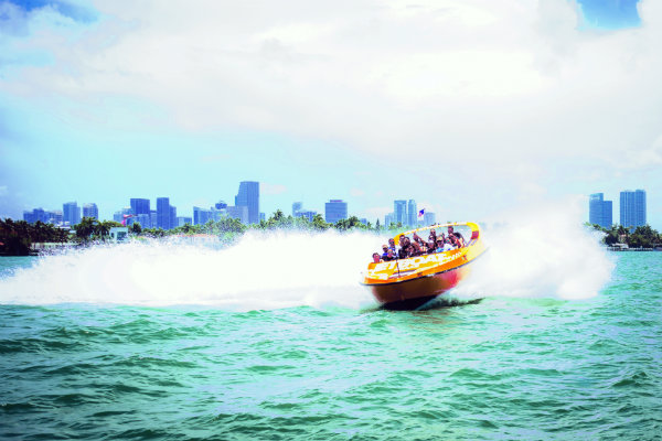 adrenaline junkie rides Miami Florida waterspouts thrill ride