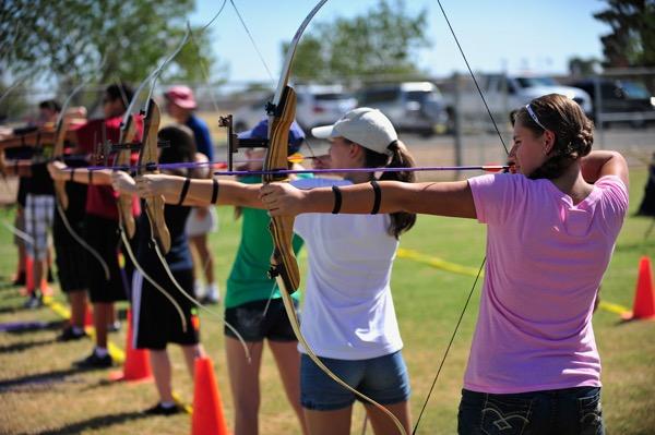 archery Miami target bow and arrow