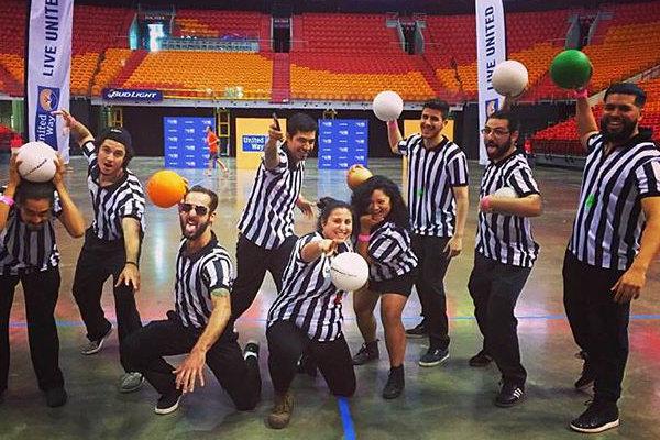 dodgeball games active cities Miami
