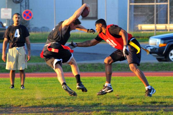 flag football team sports pickup games Miami Florida south