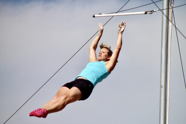 trapeze outdoor aerial skills circus