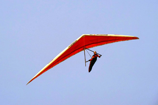 hang gliding flying Miami Florida adventure