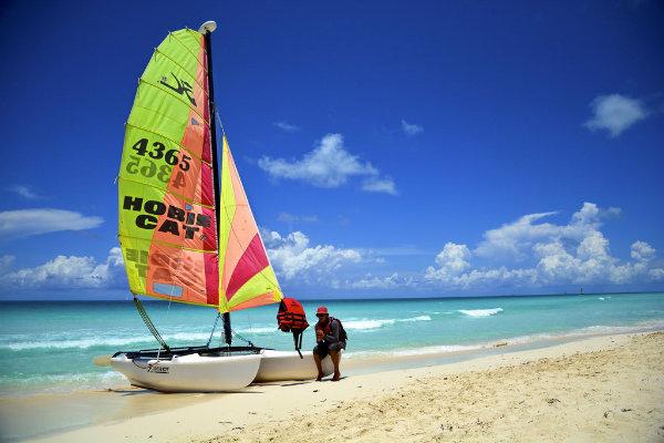 Hobie cat Miami Florida south Florida sailing water sports