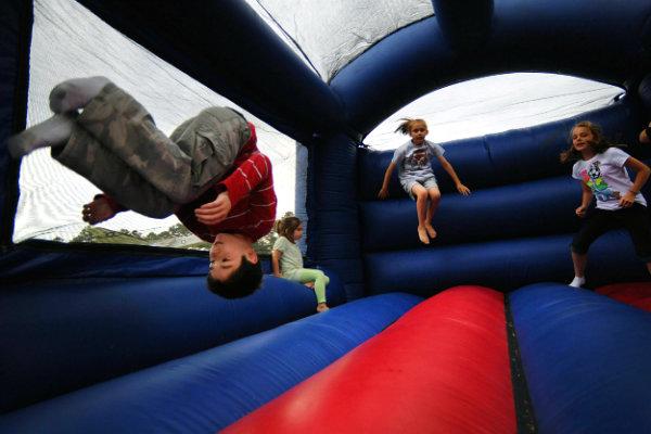 flip moon bounce inflatable rentals fun Miami kids