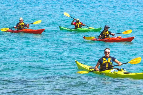 kayaking waterspouts south Florida Miami