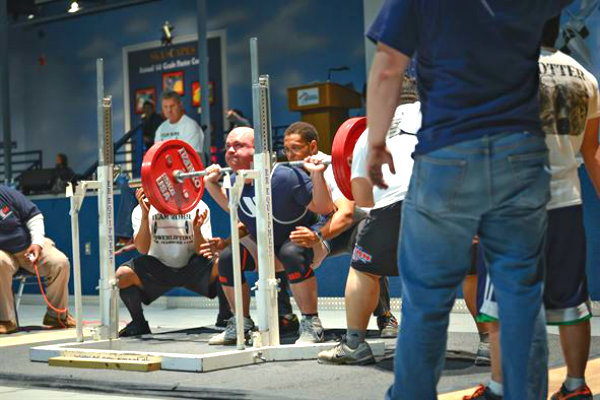 powerlifting weight lifting strength team Miami south Florida