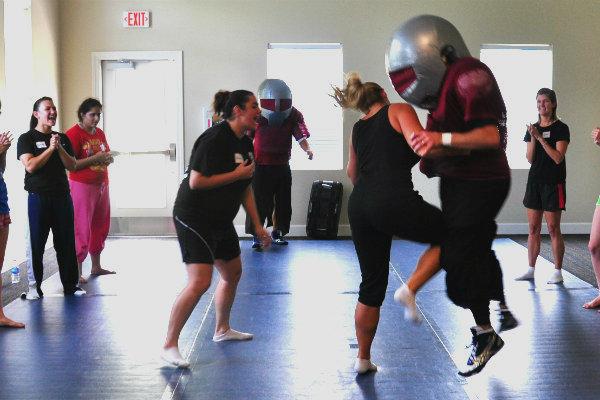 self defense training Miami south Florida women safety