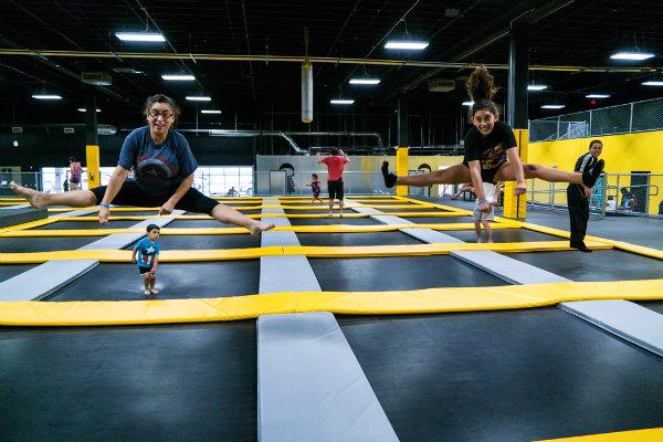 trampoline parks jump floors skyline south Florida Miami
