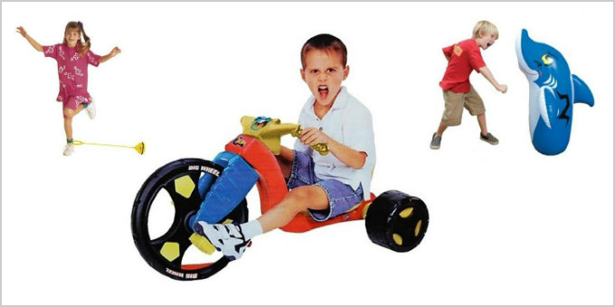 Exercise Toys: Top 25 All-Time Active Toys for Kids