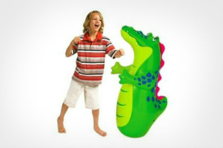 childrens inflatable punching bag