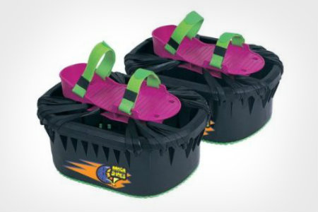 jumping moon shoes you wear on your feet