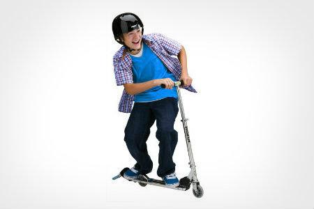 kids folding portable razor scooter