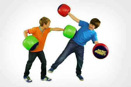 socker boppers blow up punching gloves