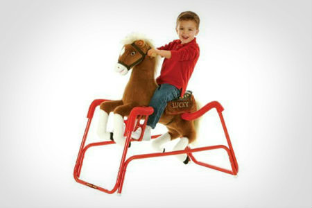 childrens spring horse toy