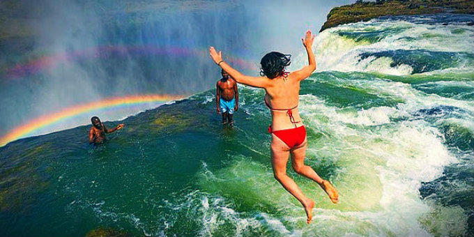 27 Fun & Exotic Places To Swim In The World