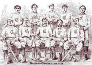 cincinnati red stockings were the first ever pro baseball team