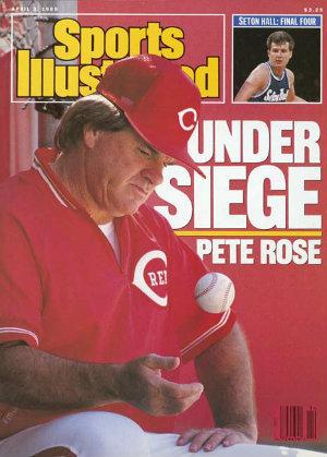 1989 pete rose banned from baseball for gambling