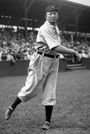 cy young pitched his first game in 1890