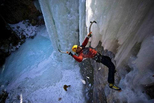 The Sport of Ice Climbing