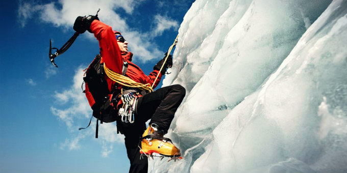 Ice Climbing: Taking The Slippery Slope To A Whole New Level