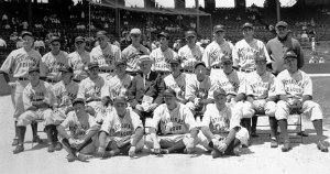 the first all-star game was played in 1933