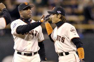 2002 Tsuyoshi Shinjo San Francisco Giants World Series