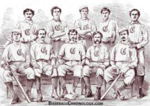 cincinnati red stockings were the first ever pro baseball team