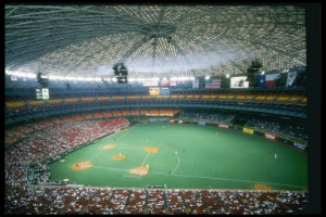 1965 houston astro dome opens