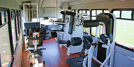 Mobile Fitness Gyms Take To The Streets Fitness Trucks