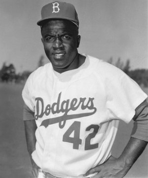 signed with the dodgers in 1945