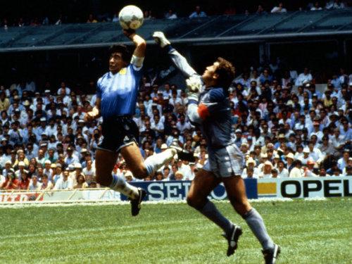 Diego Maradona Hand Ball