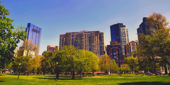The Emerald Necklace & Boston's Most Popular Parks Ranked For Runners
