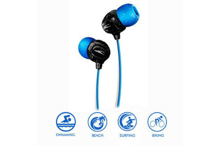 Black and Blue headphones