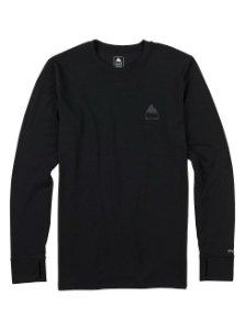 Black long sleeve layering shirt