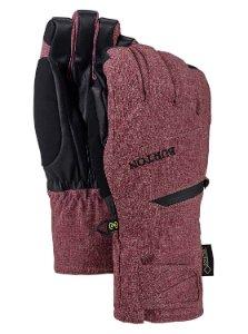 Maroon gloves