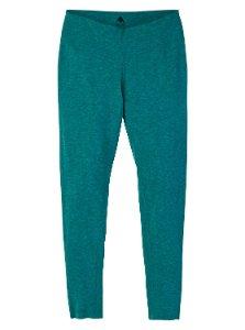Blue-green leggings