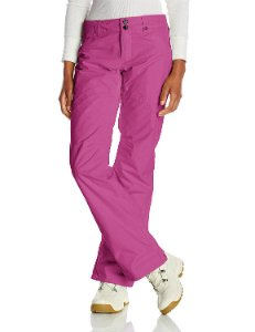 Pink snow pants for women