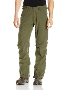 Army green snow pants for men